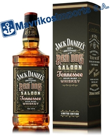(en) JACK DANIELS RED DOG SALOON 43% (6 X 70 CL)